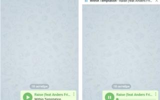 Как слушать музыку через телеграмм