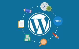 WordPress управление контентом