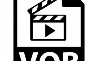 Просмотр видео vob