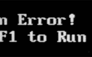 В биосе cpu fan error
