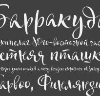 Установка шрифта в word