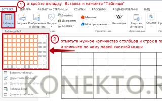 Как можно оформить таблицу word