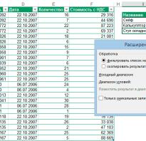 Excel фильтрует не все строки