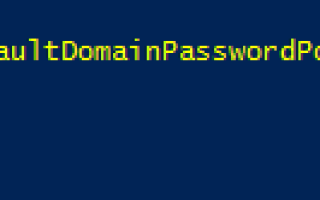 Password never expires