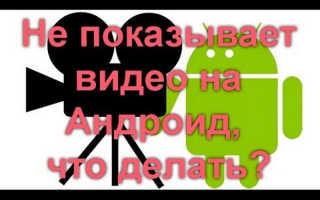Вконтакте не показывает видео на телефоне